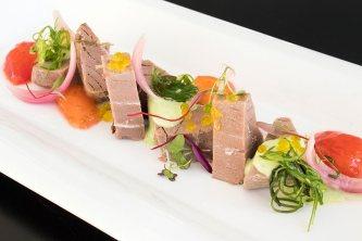 Ensalada de tarantelo de atún rojo