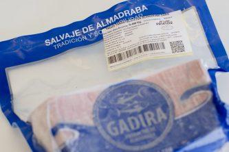 etiqueta de atún rojo gadira