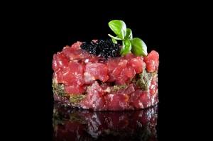Tartar de atún rojo de Venta Melchor