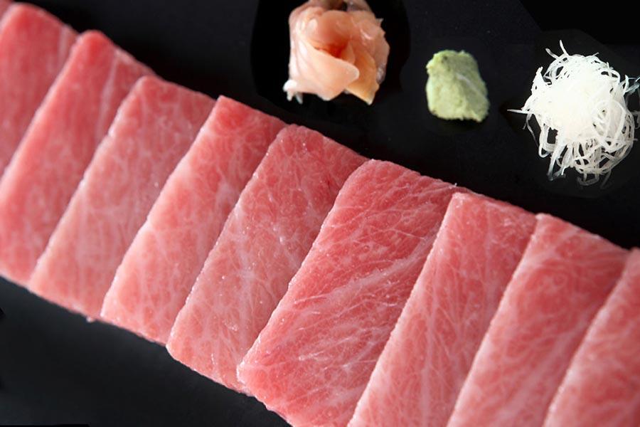 Sashimi de Toro - Restaurante El Campero