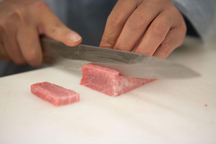Masterclass corte de atún toro - Gadira