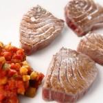 Morrillo de atún rojo en Restaurante El Campero