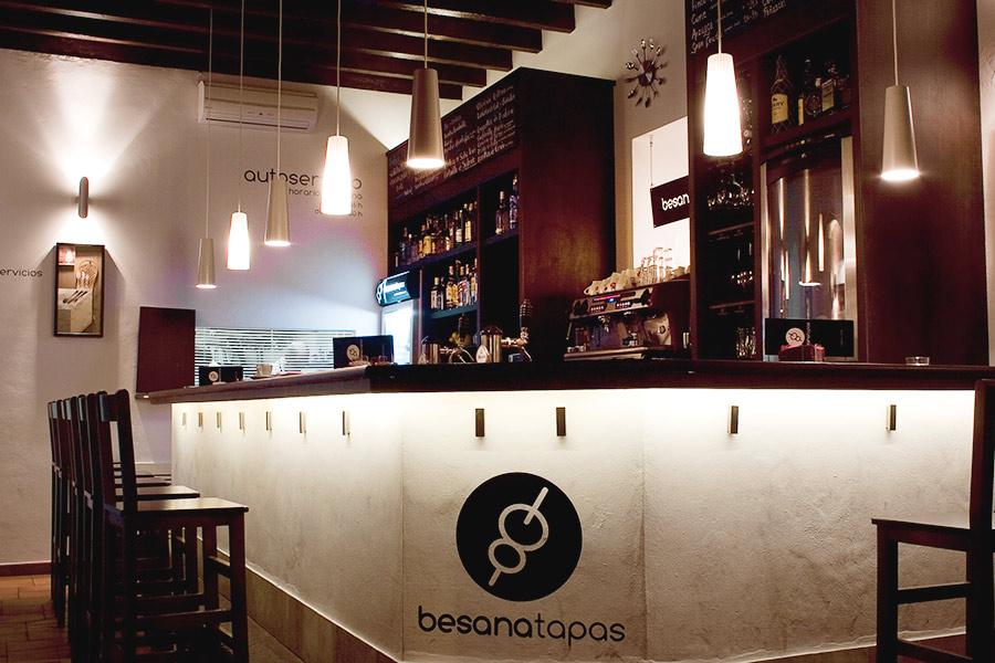 Alta gastronomía en formato tapas. Besana Tapas