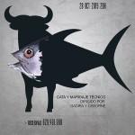 1ª Cena temática Plato al Centro - Atún que te pilla el toro. 28/01/2015