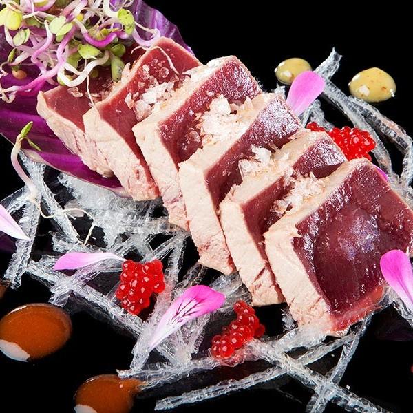 Tataki de atún rojo en Francisco La Fontanilla
