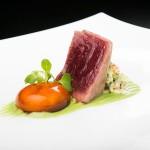 Tataky de atún rojo en La Carboná