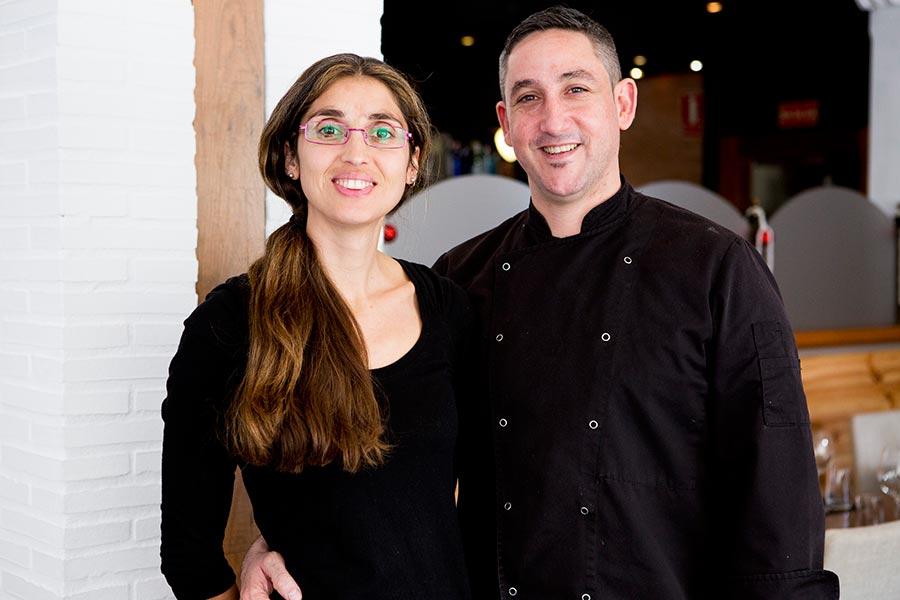 Marta y Abraham - La Solana Restaurant