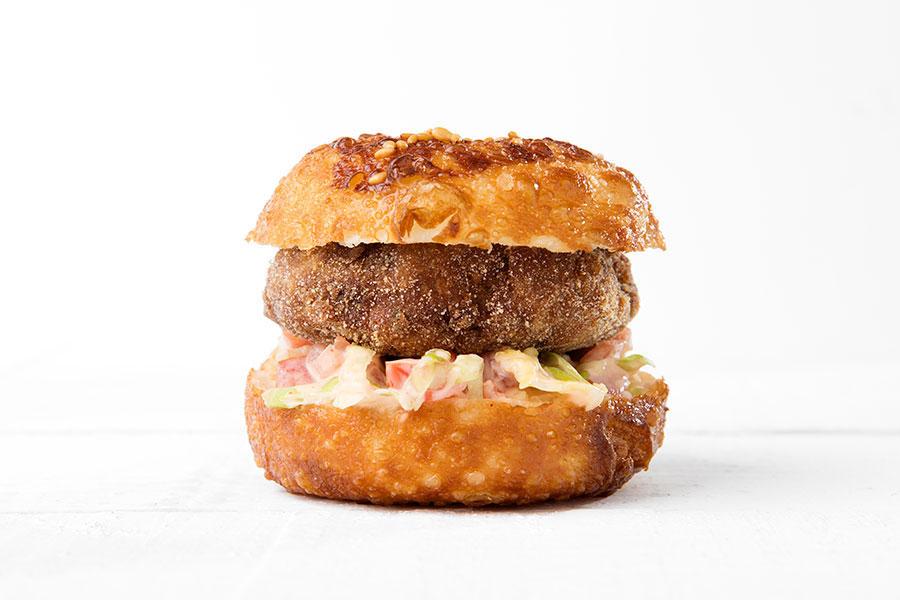 Mini hamburguesa de atún rojo - El Campero