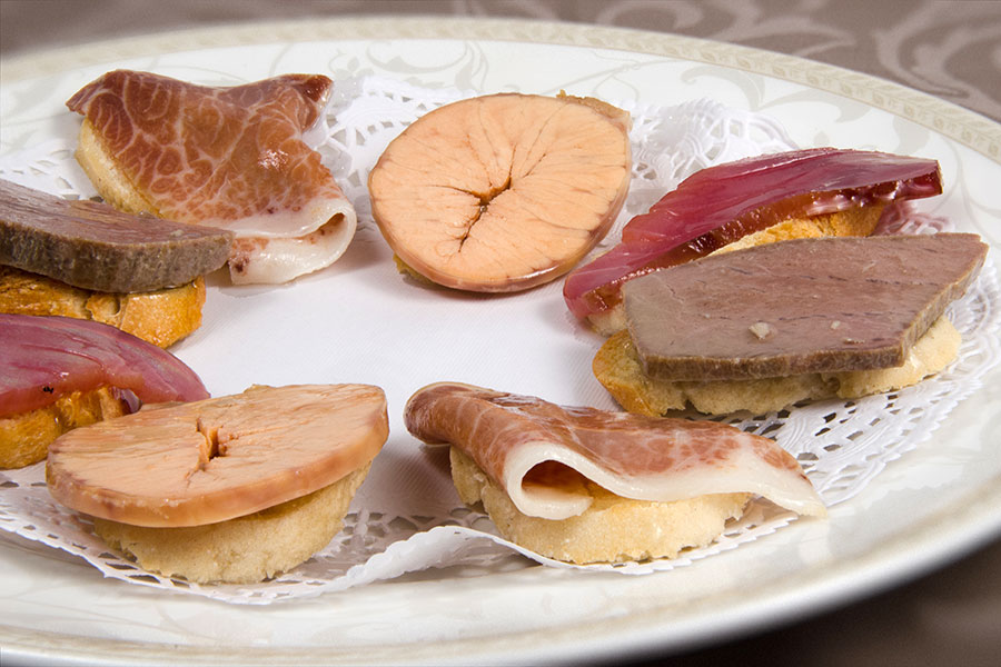 Selección de conservas de atún - Restaurante Antonio Zahara