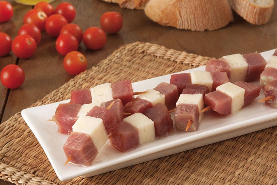Banderillas de atún y queso Baelo