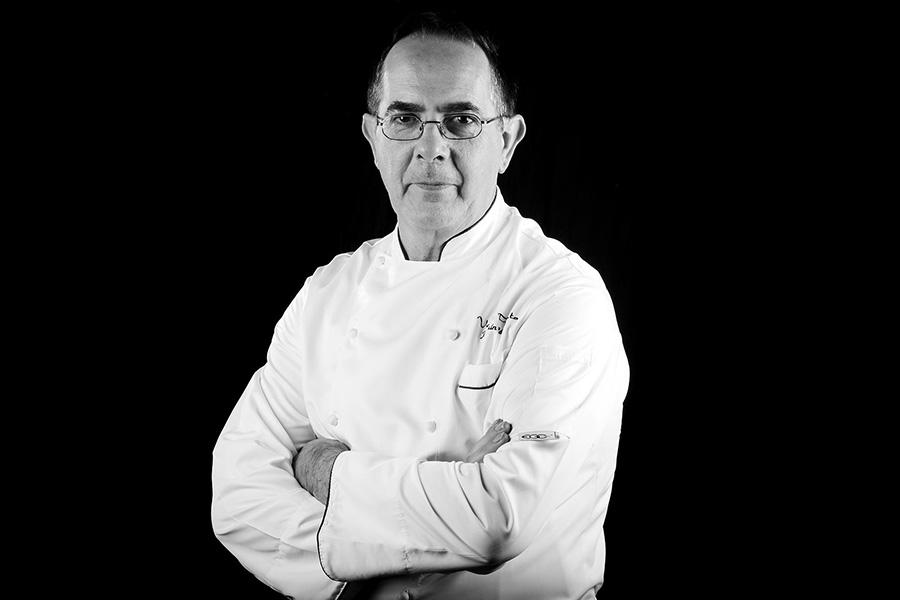 Joaquín López jefe de cocina en restaurante Venta Pinto