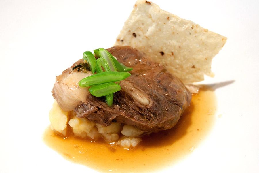 Galete de atún rojo adaptado para celíacos - Restaurante El Campero