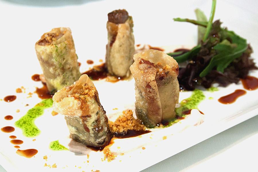 Wonton crocante - Restaurante El Campero
