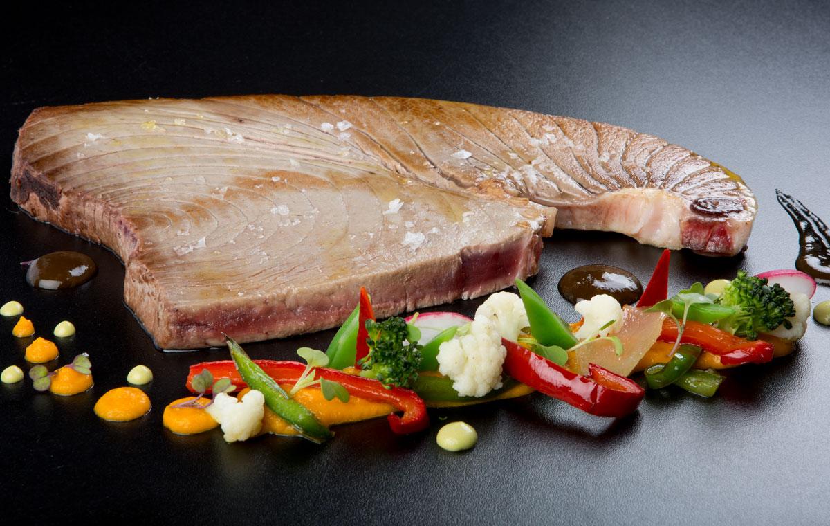 Chuletón de atún rojo