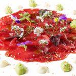 Marinada de tarantelo de atún rojo, un plato que quita el aliento