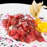 Taquitos de tarantelo con salsa picante, combinación perfecta en Francisco la Fontanilla