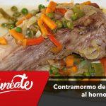 Contramormo de atún rojo al horno, la cocina tradicional del Hotel Antonio