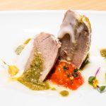 Tarantelo de atún rojo en restaurante Albalá