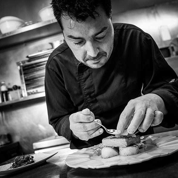 Foto del chef Julian Olivares