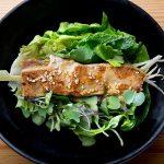 Satay de atún inspirado en la cocina balinesa