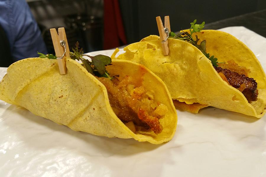 Burrito de tarantelo en tempura - Restaurante Tuntún