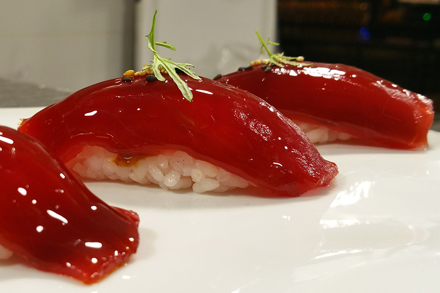 Nigiri de atún rojo - Restaurante Tuntún