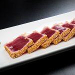 Tataki de atún rojo en Valvatida