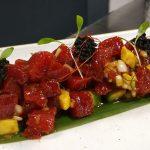 Tartar de atún de almadraba en Tuntún restobar