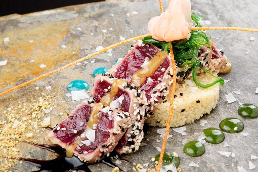 tataki de atún rojo en francisco fontanilla