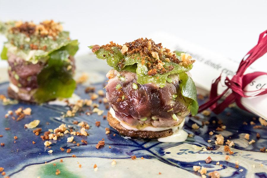 burger de atún