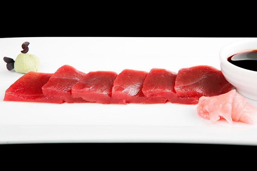 sashimi de atún rojo en Venta Pinto