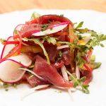 Ceviche de atún en Restaurante Albores