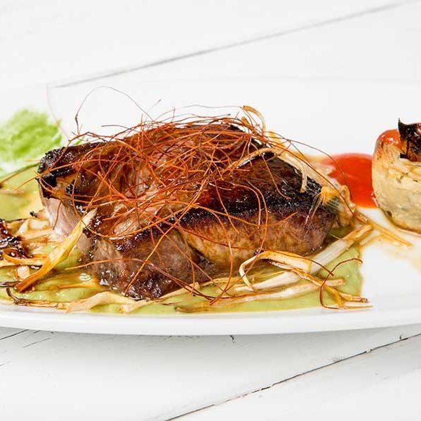 parpatana de atún rojo al horno