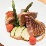 Ventresca de atún rojo en Restaurante Albores