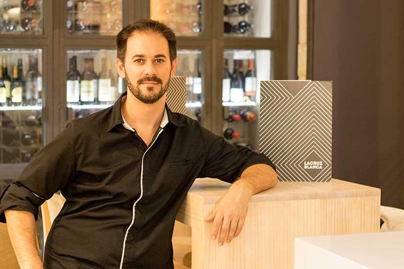 Alejandro Sánchez jefe de cocina de La Cruz Blanca