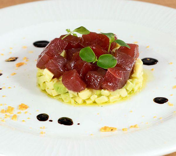 ensalada de atún rojo