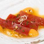 Menú degustación de atún restaurante El Campero