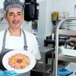 Carpaccio de parpatana de atún rojo, El Alférez