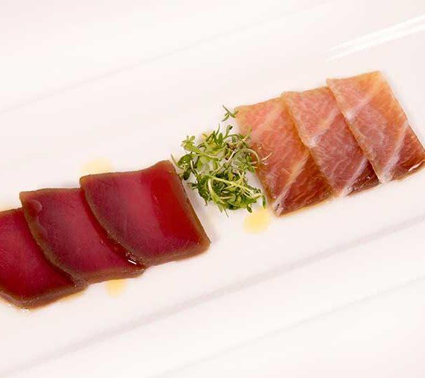 ahumado de atún rojo