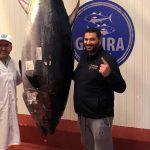 Más de 11.000 euros por el atún de la Virgen del Carmen