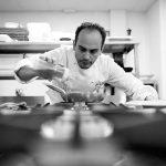 La ventresca de atún curada, restaurante Mantua