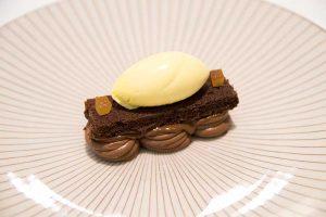 chocolate en textura de restaurante Mantua