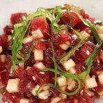 Tartar de atún rojo con manzana ácida, Palodú