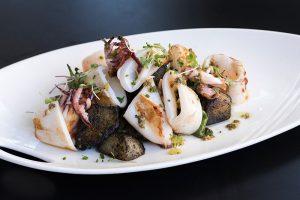 Calamar restaurante Albalá