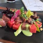 Ensalada de tarantelo de atún rojo, Israel Ramos