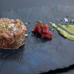 Tartar de tarantelo de atún rojo, Albalá