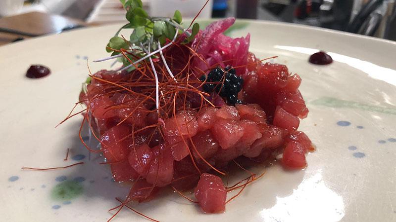 tartar de atún rojo en Madrid