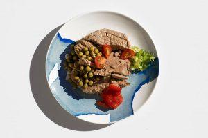 ensalada de mormo de atún rojo