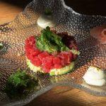 Tartar de atún rojo en Secuencia 9, Jerez