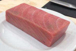 chutoro de atún rojo